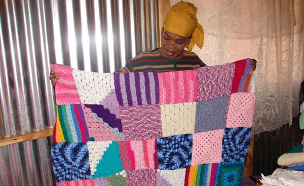 Every Day is Mandela Day for knit-a-square | Knit-A-Square : knitted quilt squares - Adamdwight.com